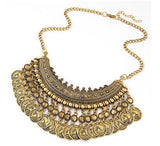 Vintage Choker Collar Statement Necklace