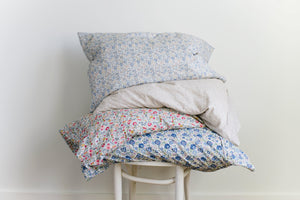 Single Floral Pillow Case