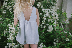 Peony Tunic - Light Blue