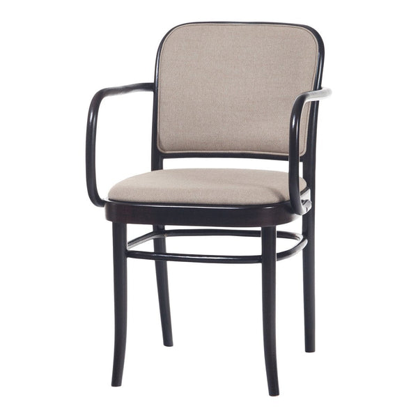 Armchair 811 - Seat & Back Upholstered - Beech Frame
