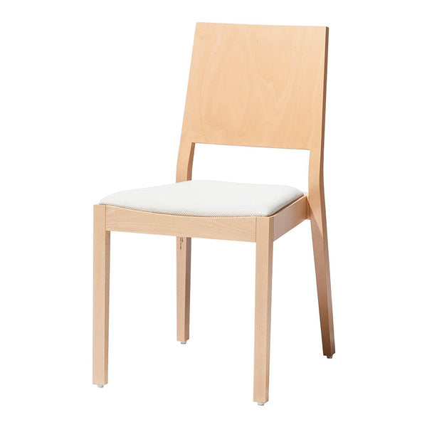 Chair Lyon 516 - Seat Upholstered - Beech Frame