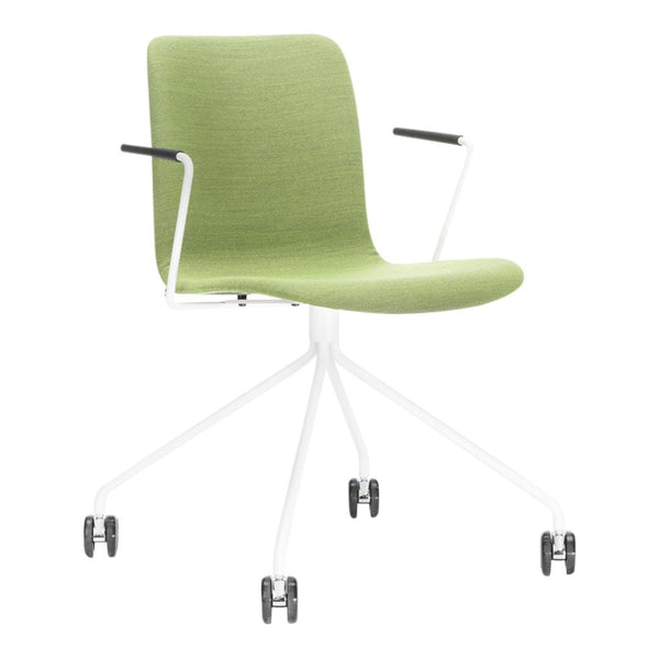 Sola Armchair - 4 Leg w/ Castors - Seat & Backrest Upholstered