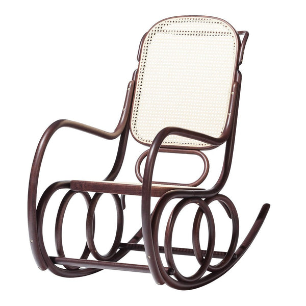 Rocking Armchair Dondolo - Cane Seat