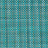 Chilewich Rectangular Mini Basketweave Placemat - Turquoise, Set of Four