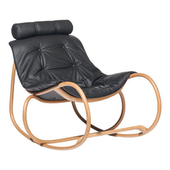 Rocking Armchair Wave - Beech Frame