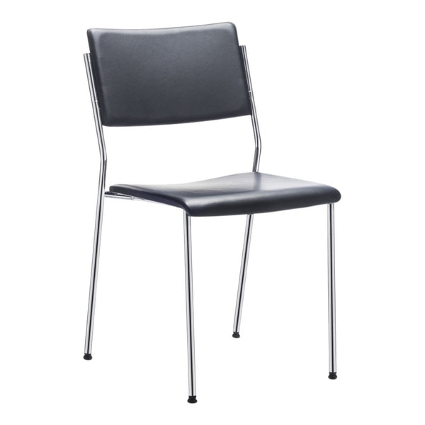 Form Chair - 4 Leg Base - Seat & Backrest Upholstered