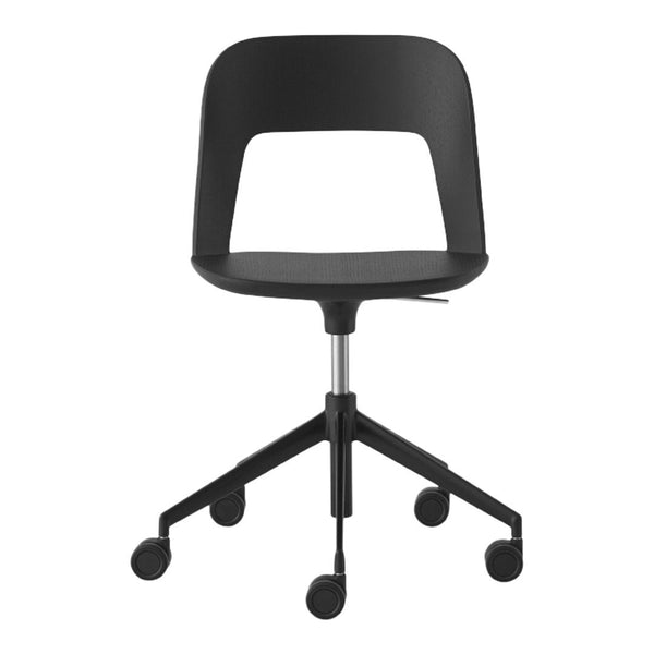 Arco Office Chair - 5-Star Base, Unupholstered, Adjustable