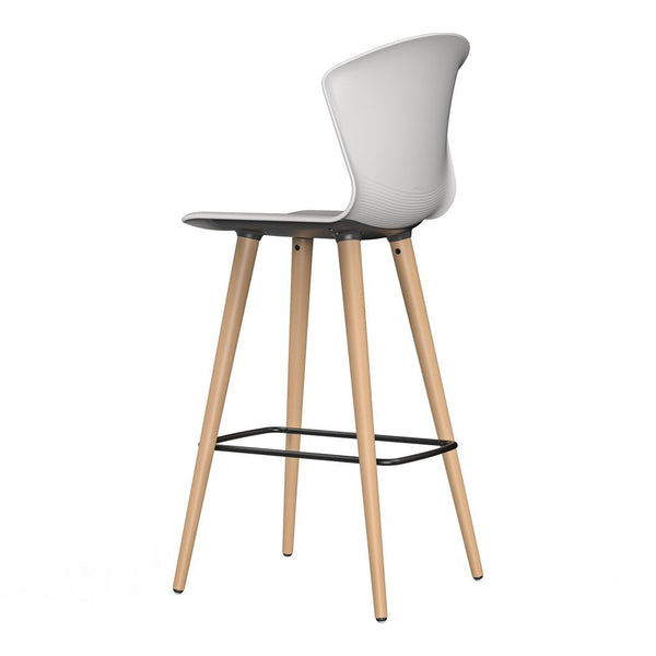Whass Bar Stool - Wood Legs