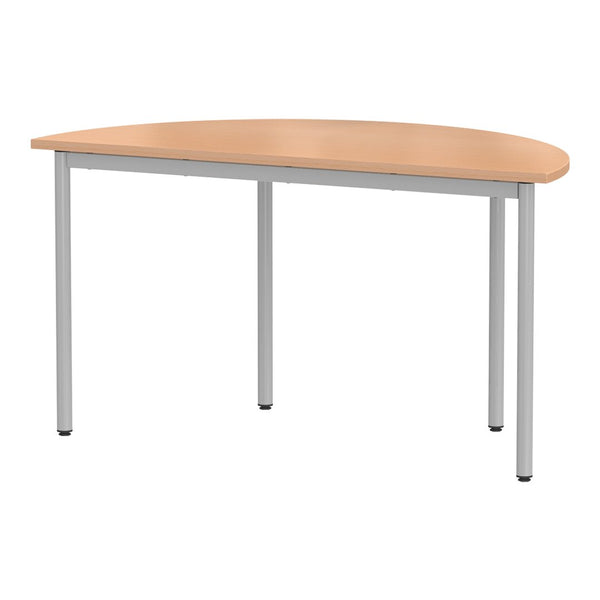 Welded Metal Table System - Semi-Circle