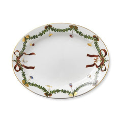 Star Fluted Christmas Serving Dishes