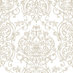 Empress Damask Wallpaper