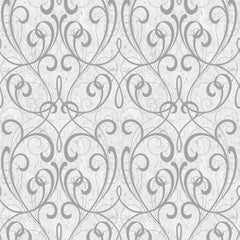 Cork Damask Wallpaper