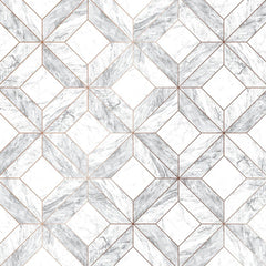 Marble Marquetry Wallpaper