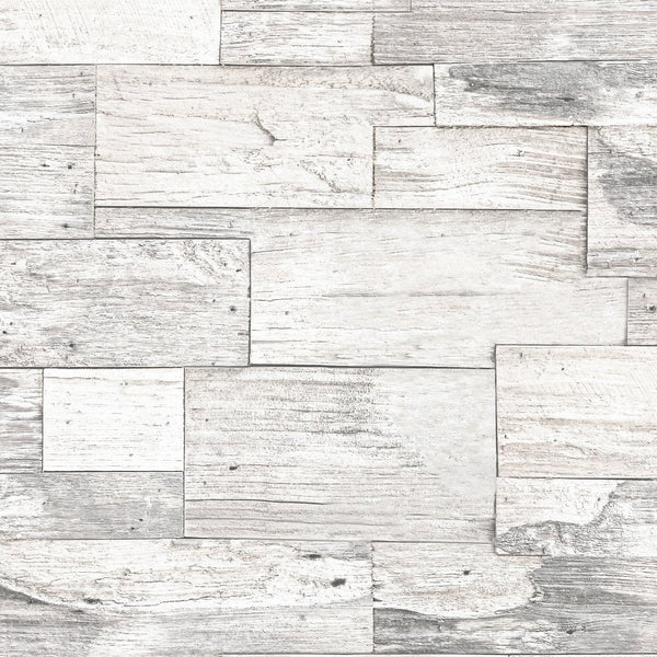 Shiplap Wood Wallpaper