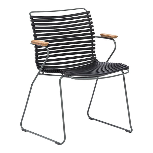 Click Outdoor Dining Chair w/ Armrests