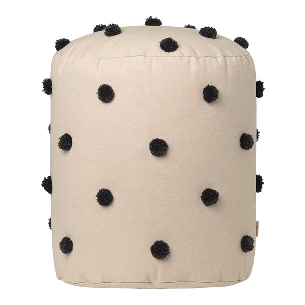 Dot Tufted Pouf