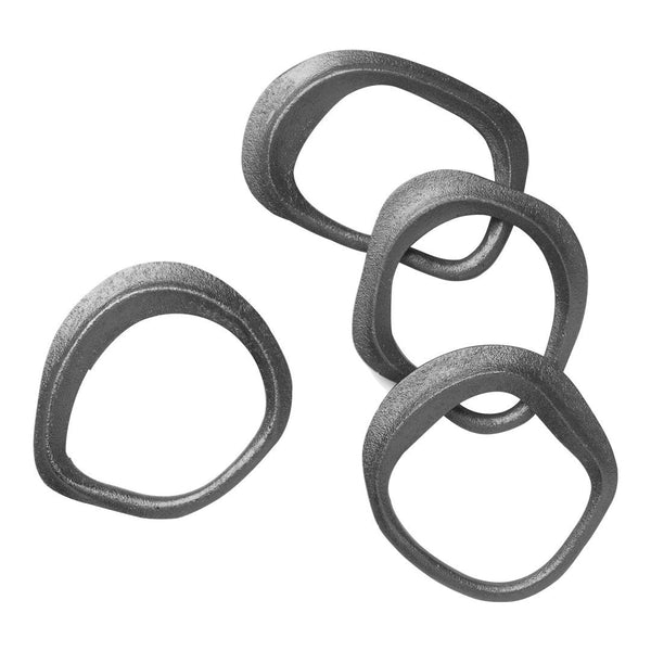 Flow Napkin Rings - Set of 4