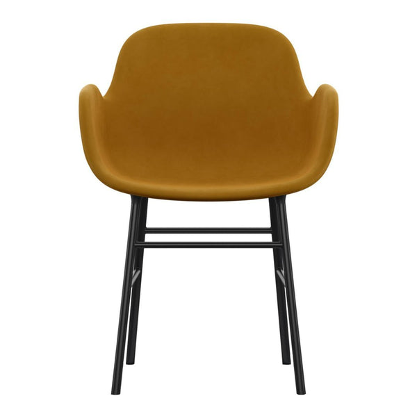 Form Armchair - Metal Legs - Upholstered