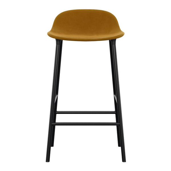 Form Counter Stool - Metal Legs - Upholstered