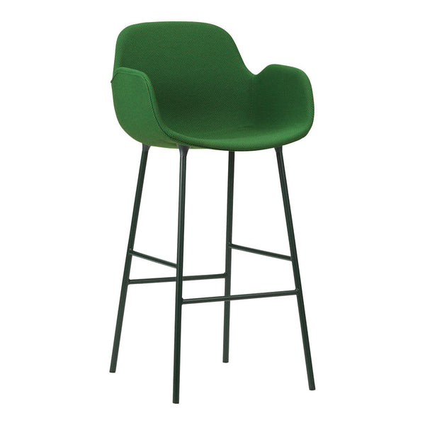 Form Bar Armchair - Fully Upholstered
