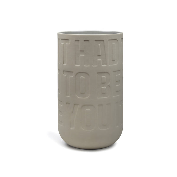 Love Song Vase - Large Sand