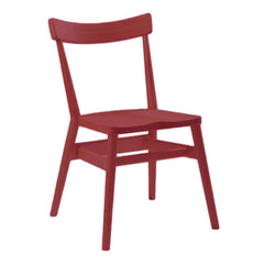 Holland Park Chair - Rosso Red - Outlet