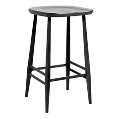 Originals Barstool - Counter Height - Black Finish - Outlet