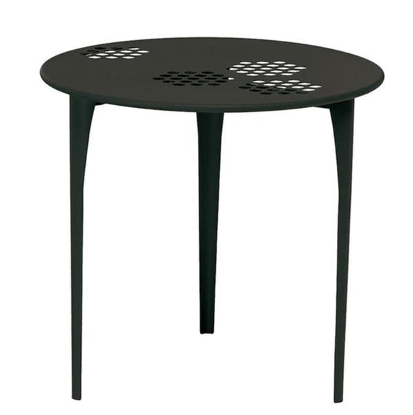 Coalesse Emu Pattern Round Table - Textured Matte Black
