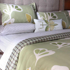Inhabit Stencil Full/Queen Duvet and Shams Set