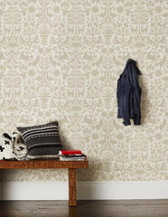 Emily Isabella for Hygge & West Otomi in Taupe Wallpaper