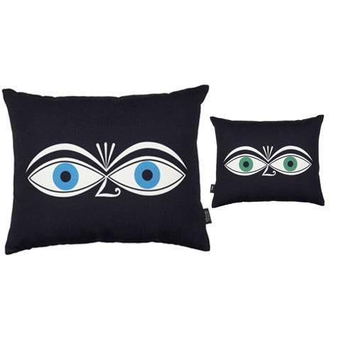 Girard Graphic Print Pillows - Eyes