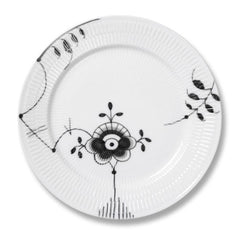 Black Fluted Mega Dinner Plate B