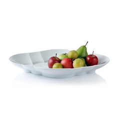White Elements Medium Serving Dish