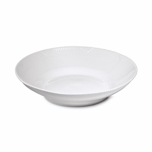 Royal Copenhagen White Elements Large Deep Plate