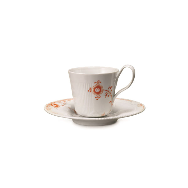 Multicolored Elements Cup & Saucer