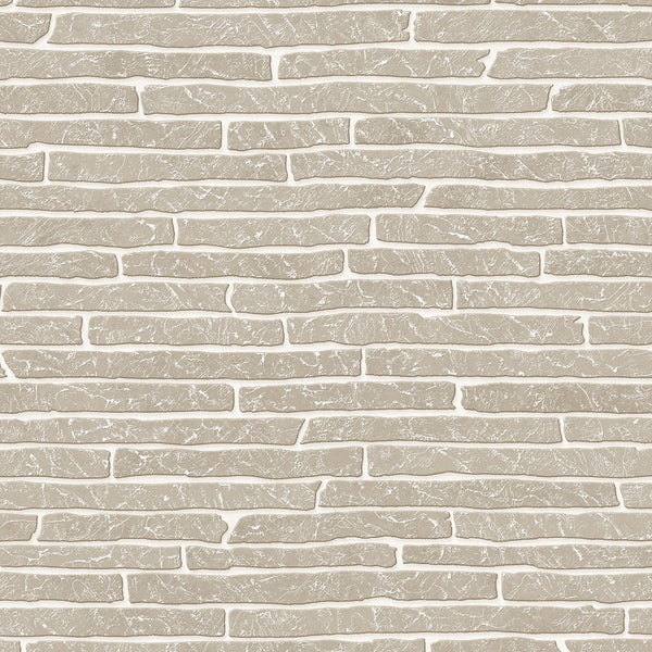 Briquette Wallpaper