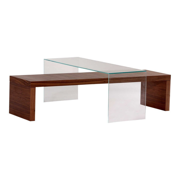 Plinth Veneer Coffee Table