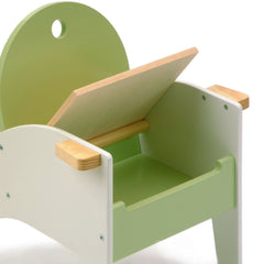 Hide-n-Sit Armchair - Green