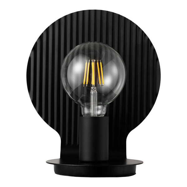 Plate Table Lamp - Black - Overstock