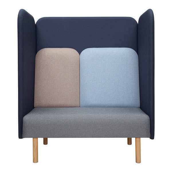 August 2-Seater Sofa - Tall Back