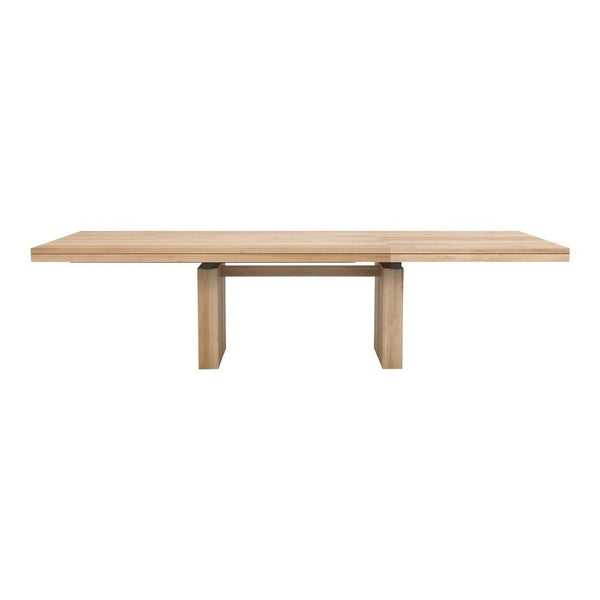 Double Extendable Dining Table