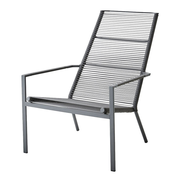 Edge Outdoor Highback Chair - Stackable