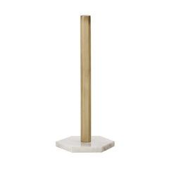 Brass Hexagon Paper Towel Stand - Outlet