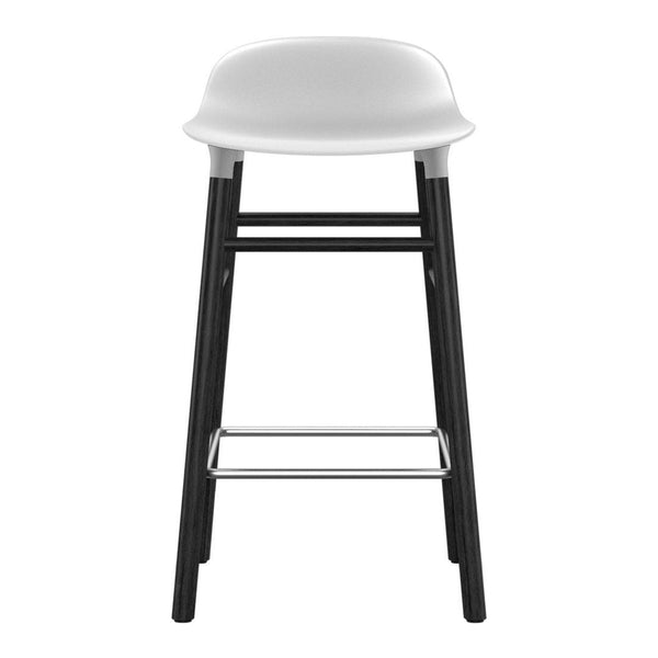 Form Bar/Counter Stool - Wood Legs