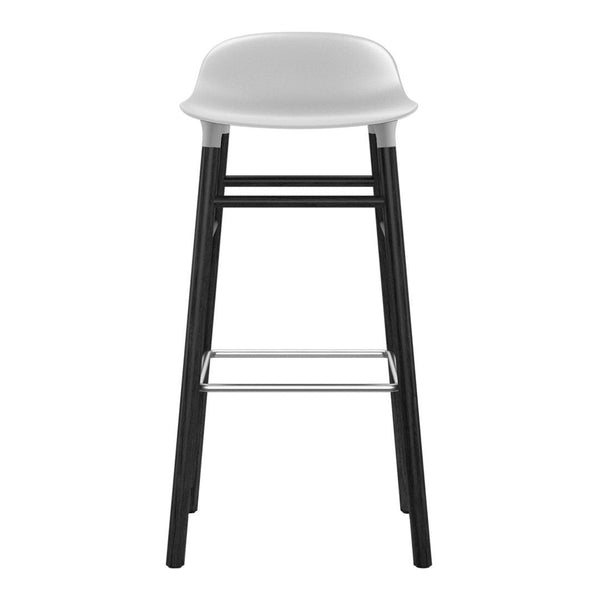 Form Barstool - Wood Legs