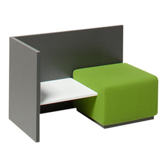 Team 6106 Single Seater with Corner Table and Back/Side Panel