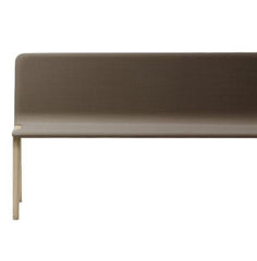 Heldu High Back Bench - Seat Upholstered