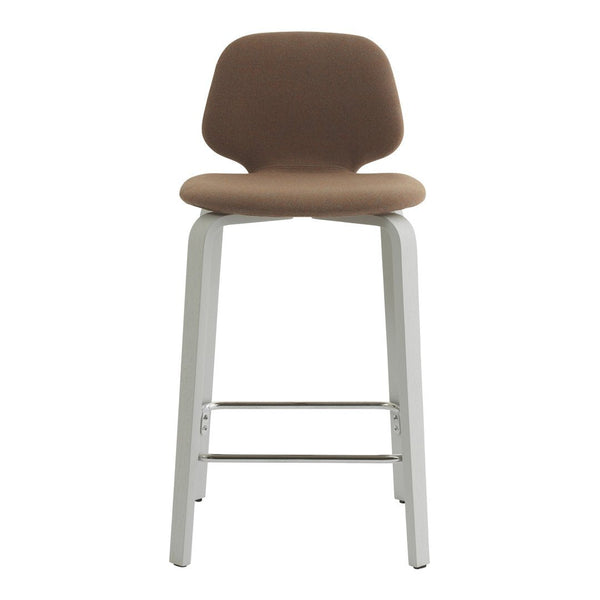 My Chair Counter/Bar Stool - Wood Base - Fully Upholstered
