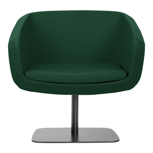 Arca Lounge Armchair - Plate Base
