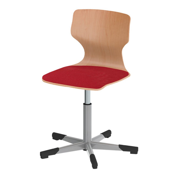 Pagholz® Series 78 Spindle Swivel Chair - Upholstered